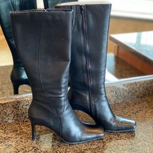 BP black leather Kimmy boots